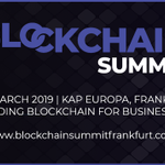 What a successful day at #BlockchainSummit Frankfurt - thank you to all of our speakers, sponsors and attendees! https://t.co/ExcEWTX0rp